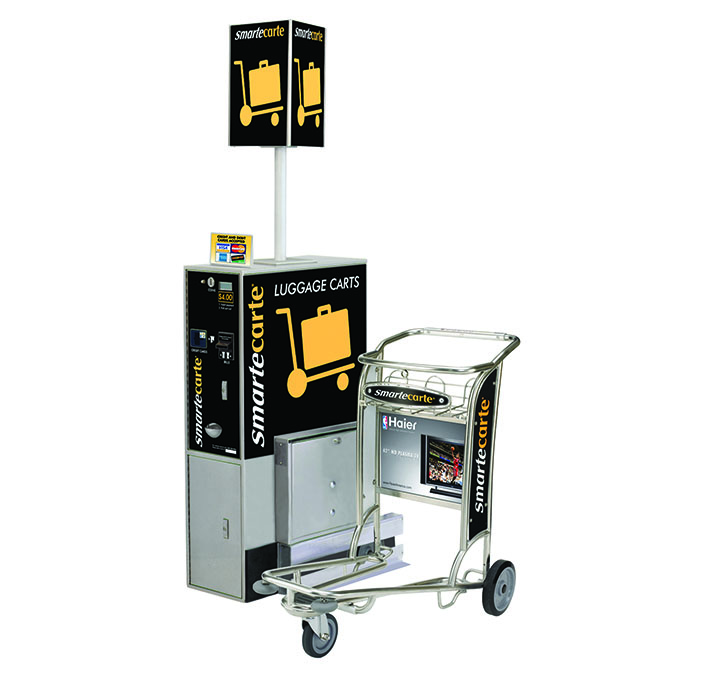 Smarte Carte's Cart Management Unit